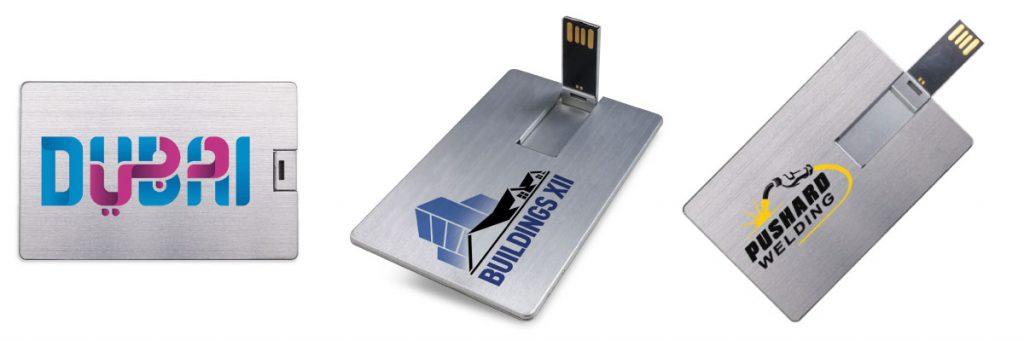 Promotional Aluminum Card Sized USB