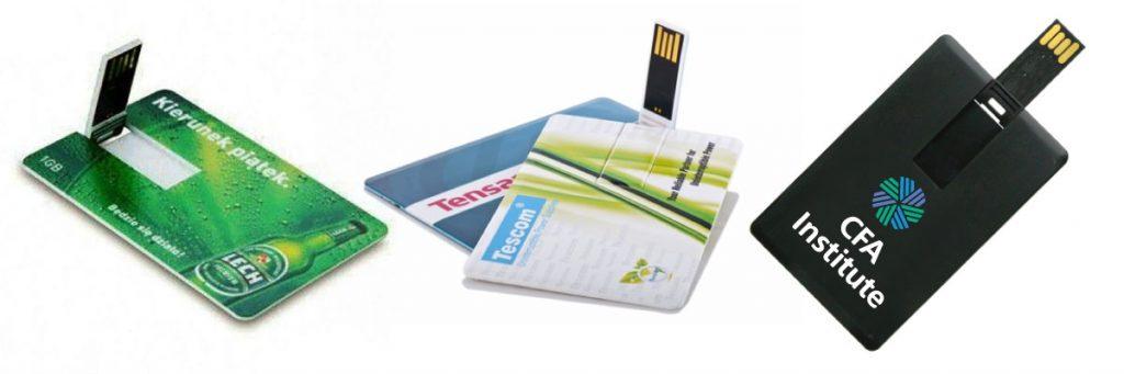Card Shaped USB Flash Branding